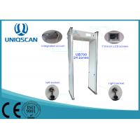 Wholesale White 18 Zones Walk Through Metal Detector High Density Fireproof With Led Indicator from china suppliers