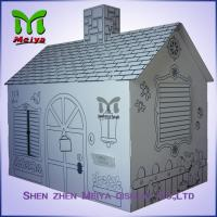 Wholesale Customized Printing Cardboard Kids Toys Cat , Dog house / playhouse from china suppliers