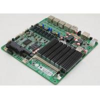 Quality Quad Core Industrial PC Motherboard Quad LAN J1900 CPU ZC-BT194L for sale
