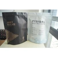 Wholesale Stand Up Aluminum Foil Whey Protein Powder Bags For 480g from china suppliers