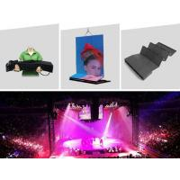 Quality Patented 360 degrees flexible LED displays for concert backdrops for sale
