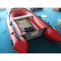 Wholesale Big Red PVC Inflatable Boat For Adult / Inflatable Fishing Boat from china suppliers