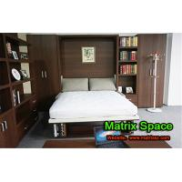 Wholesale Twin Space Saving Transformable Wall Bed Bedroom Furniture With  Sofa from china suppliers