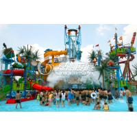 Wholesale Outdoor Huge Water House Aqua Playground Equipment with Water Spray and Water Curtain from china suppliers