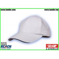 Wholesale White Velcro Closure 100% Cotton Kids Baseball Hat Metal Strap Old Style from china suppliers