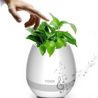 Smart Portable LCD Music flower disk with bluetooth ,touch sensor