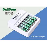 Wholesale 6 Slots Aa/Aaa Rechargeable Battery Charger For High Temperature Battery  from china suppliers