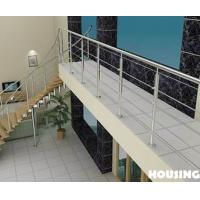 Wholesale 304S / 316S Balcony Balustrades For Commercial Building / Villas from china suppliers