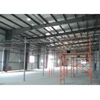 Wholesale Pre Engineered Light Frame Steel Construction , Workshop Multi Storey Industrial Buildings from china suppliers