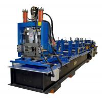 Wholesale Full Automatic Z Purlin Roll Forming Machine With Punching PLC Control System from china suppliers