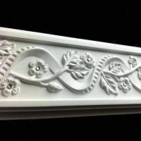 Quality PU Carving Chair Rail Moldings, Safe, Eco-friendly and Nontoxic for sale