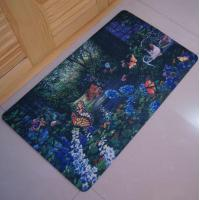 Wholesale Eco-Friendly Washable Rubber Floor Carpet , Durable Workshop Rubber Floor Mats from china suppliers