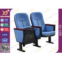 Wholesale Gravity Wear - Resistant Fabric Church Auditorium Chairs With Writing Pad from china suppliers