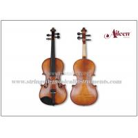 Wholesale Middle Grade Flame Back Metal Tailpiece Moderate Violin Musical Instrument from china suppliers
