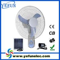 Wholesale Solar DC Wall Fan YF-16G from china suppliers