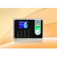 Wholesale Black Simple Fingerprint Time Attendance System With Li - Battery from china suppliers