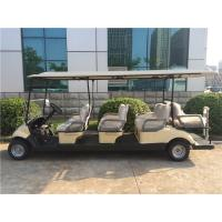 Wholesale Street Legal 8 Seater Golf Carts / Electric Golf Vehicle CE Approved For Sightseeing from china suppliers