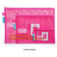 Wholesale Pencil case, zipper seal pencil bags, see through mesh grid pencil bag, mesh pouch, mesh pencil bags, mesh pencil case from china suppliers