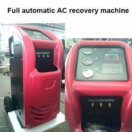 Auto refrigerant machine maquina de recuperacion de refrigerante