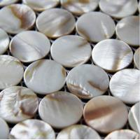 Wholesale Handmade Beautiful Sea shell Mosaic Freshwater Shell Mosaic Colorful Round Pieces dia 25mm from china suppliers