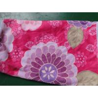 Wholesale Weft knitted flower printed 30*60 microfiber cleaning cloth , microfiber home usaging towel from china suppliers