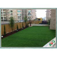 Wholesale PE + PP Material House Outdoor Artificial Grass Field Green / Apple Green Color from china suppliers