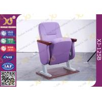 Wholesale Xiangju Auditorium Seats Folding Church Hall Chairs With Fabric Covers from china suppliers