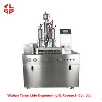 Wholesale Glass Cleaning Spray Aerosol Filling Equipment , Spray Can Filling Machine from china suppliers