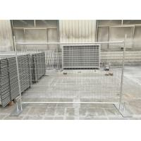 Wholesale Professional Portable Temporary Fence Panels With Temporary Fence Stay from china suppliers
