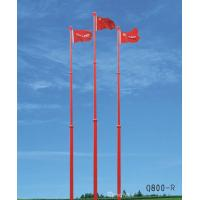Wholesale Motorised Automatic Telescopic Aluminium Flag Pole , 50m Remote Control from china suppliers