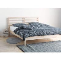 Quality Traditional Wood Frame Bed Queen Size With Slatted Bed Base OEM Avaliable for sale