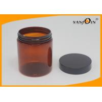 Wholesale HDPE printing Plastic Pill Bottle , Amber Medicine Bottle 250ml from china suppliers