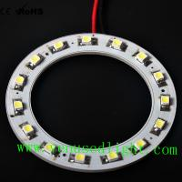 Wholesale 60MM 15led Bright 3528 Led Car Angel Eyes Halo Ring Light Headlight AA6 from china suppliers