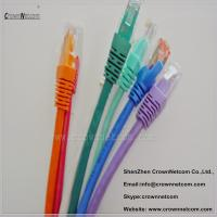 Wholesale 8 Colors UTP RJ45 Ethernet Cat6 Patch Cable 26AWG Stranded Copper With Different Lengths from china suppliers
