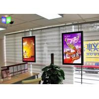 Wholesale Double Sided Lightbox With Snap Frame , Acrylic Thin LED Light Panel Display from china suppliers
