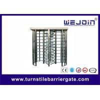 Wholesale Security Double Turnstile , Routeway Office Building Full Height Gate Turnstile from china suppliers
