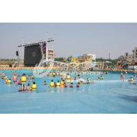 Wholesale Water Park Wave Pool Equipment , Waterpark Wave Machine For Family Fun in Aqua Park from china suppliers