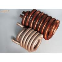 Wholesale Pool / Spa Water Pumps Finned Tube Coils / Roll Forming Process Fin Coil from china suppliers