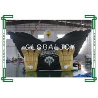 Wholesale Sporting Giant Inflatable Eagle Tunnel , Custom 3d Inflatable Tubular Tunnel from china suppliers