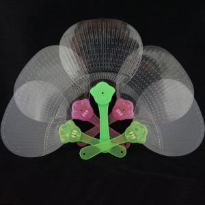 Quality LED  handle fan, Flashing handle  Fan,  flashing plastic  fan; for sale