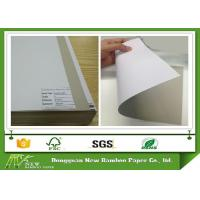 Wholesale Mixed Pulp 300gsm Coated Duplex Board Grey Back for Packaging / Printing from china suppliers
