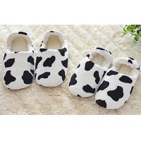 Wholesale Cow home / indoor / hotel coral Plush Slippers EN3-8.5 , bedroom slippers from china suppliers