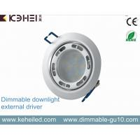 Wholesale 7w Ultra Thin Dimmable Led Downlight With 90mm Cutout And External Driver from china suppliers