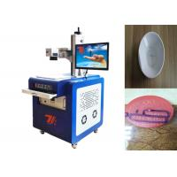 Wholesale UV Non Metallic / Metal Laser Engraving Machine Air Cooling 110*110mm Wavelength from china suppliers