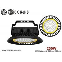 Wholesale ETL DLC CE Rohs adjustable industrial led high bay lighting 200W Warm white from china suppliers