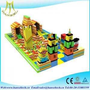 Quality Hansel BBC popular custom epp foam creative blocks building children playground equipment for sale