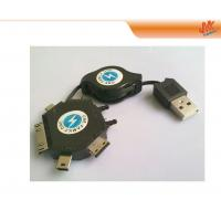 Wholesale Mini 6 in 1 100V - 240V Smart Phone Retractable USB Cables for Sony Ericsson, Motorola from china suppliers