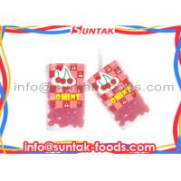 Wholesale Cherry Fruity Sugar Coated Candy , Fat Free Sugar Free Candy With Crunchy Coating from china suppliers