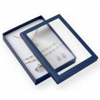 Wholesale Premium Jewelry Paper Boxes Big Set Transparent Window For Necklace Packaging from china suppliers