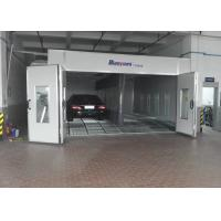 Wholesale Inner Ramp Downdraft Auto Paint Booth , Custom Paint Booth With LED Riello Burner from china suppliers